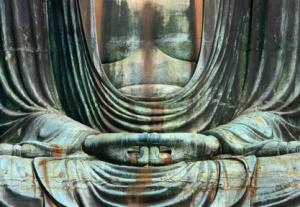 Hände eines Buddha