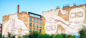 Mural in Kreuzberg, West Berlin