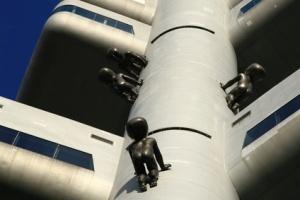 Babies on TV tower in Prague