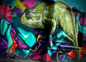 Graffiti Reptile